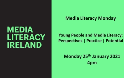 MLI Media Literacy Monday Webinar: Young People and Media Literacy – Perspectives | Practice | Potential