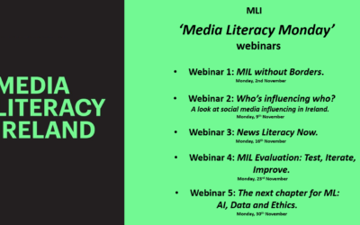 MLI 'Media Literacy Monday' Webinars