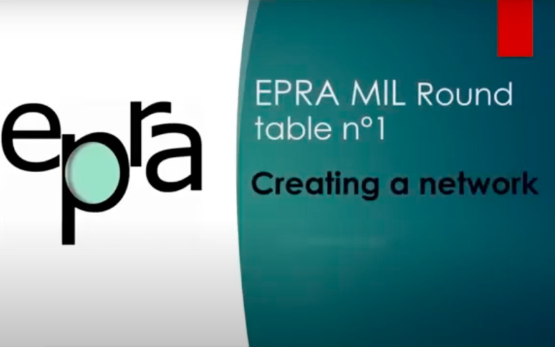 EPRA roundtable meetings on Media Literacy Networks